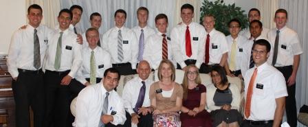 Arriving missionaries