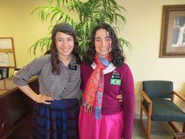 Sister Dantas and Luki