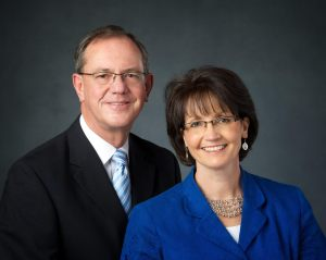 Washington, Spokane Mission President & Wife
