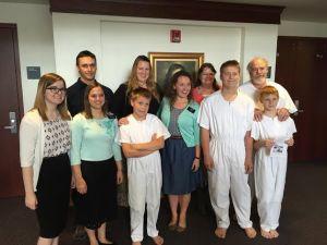 Sept 15 SV Baptism 3 boys Oligario, Rohmann & Hunt